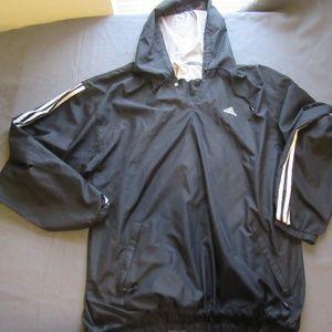 Adidas Pullover Hooded Windbreaker Jacket XXL